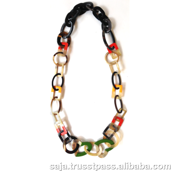 Buffalo horn necklace SHN-273