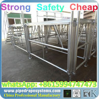aluminum mobile folding stage for singapore in alibaba store