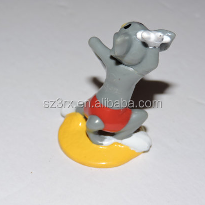 custom small animal cartoon pvc statue toys produce manufacturer