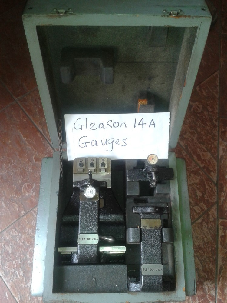 GLEASON No.14A full set of Setting Gauges