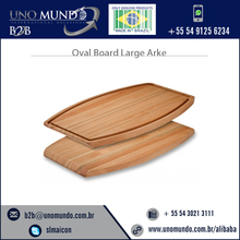 Large Size Chopping and Cutting Oval Board for Sale