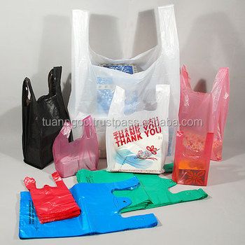 T-shirt plastic bag manufacturer