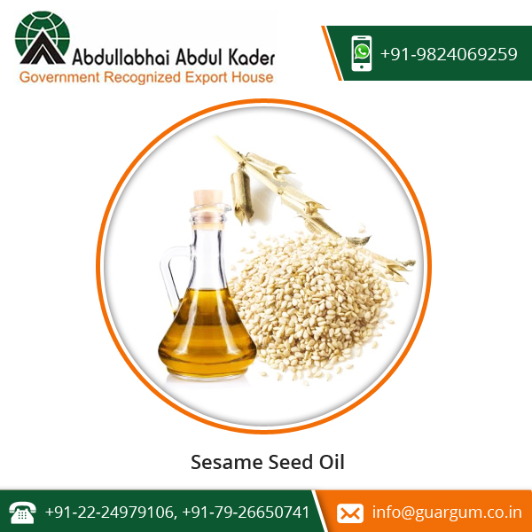 Widely Used In Cooking And Cholesterol Free Sesame Oil