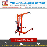 Hydraulic Electric Heavy Duty Floor Cranes Wholesale Supplier / Manufacturer from India