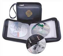 Compact heavy duty cd bag wholesale / Hot-selling Logo Branded Top CD Cases