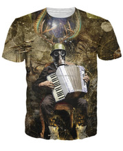 amazing design sublimation t shirt/best robote design sublimation t-shirt/AT BERG