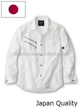 Men summer clothes / Long sleeve shirts ( spring and summer ). Made by Japan.