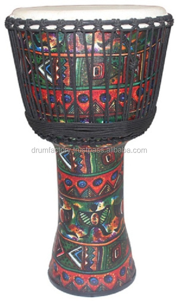 PVC Rope Djembe, ESPPVC-15 djembe percussion music instrument