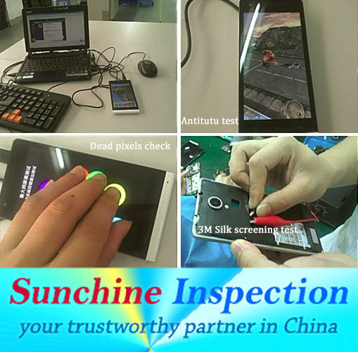 Mobile phone inspection service and phone cover quality inspection in China