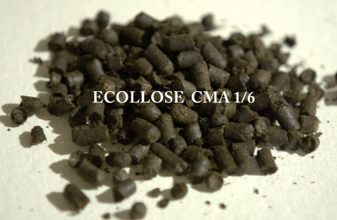 Cellulosic pellets for stone mastic asphalt