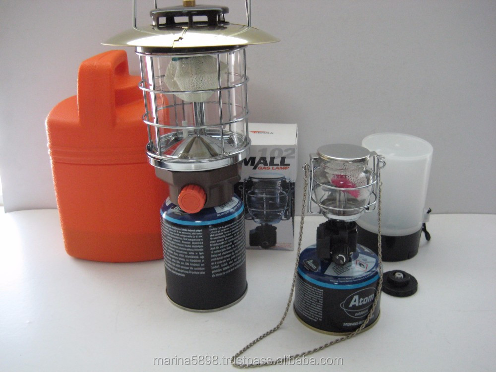 CAMPING & OUTDOOR PORTABLE BUTANE GAS LAMP