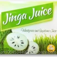 Jinga Juice Mix Drinks Guyabano and wheatgrass powder
