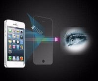 Blue light cut screen protector film for curved glass