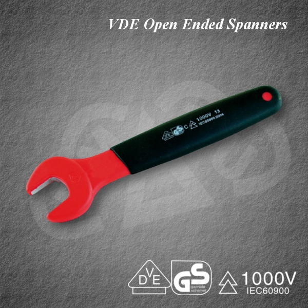 Japanese Powerful VDE Open Ended Spanners, Insulated tool