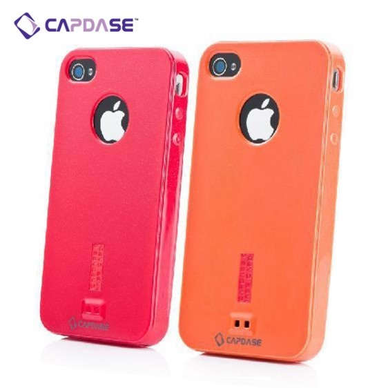 Soft Jacket Xpose Sparko Mobile Case for iPhone 4S / 4