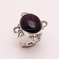925 Solid Sterling Silver Ring Natural