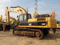 Used CAT 336D Crawler Excavator China to Africa Mining Equipment /Caterpillar 325B 330C 330D 336D 345D Excavator