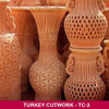 Turkey Cutwork Pots
