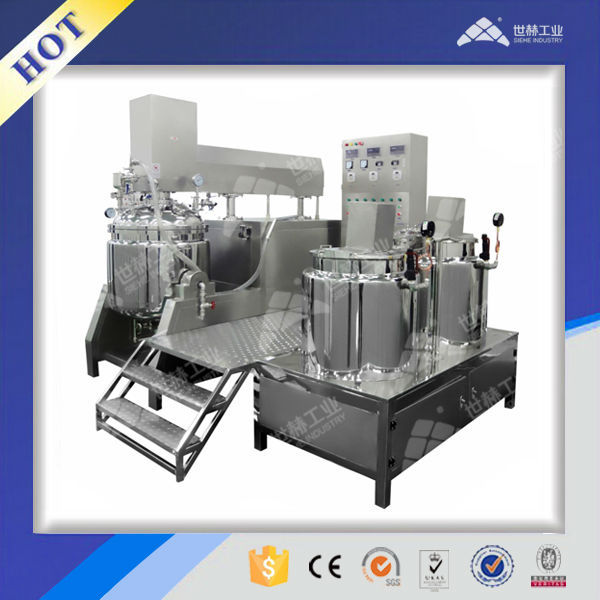 Cosmetic Vacuum Emulsifying Machine Complete Production Line