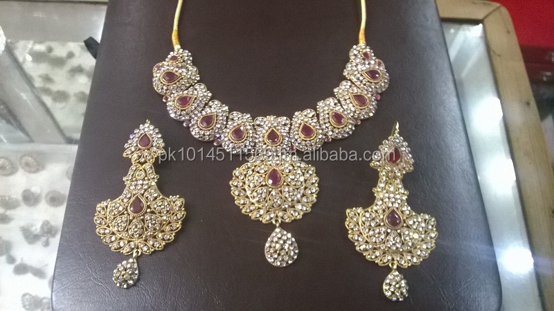 artificial bridal jewellery set
