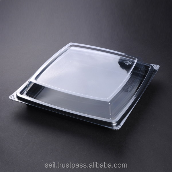 Microwavable plastic food container, Hot food & takeaway box , Deli salad container
