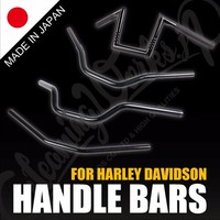High quality and Original design handlebars for HARLEY , handmade individually by skilled craftspeople at Japan