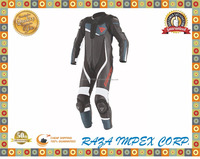 Hot selling welcomed OEM leather motorbike wear/Motorbike suits with 1.3mm Leather Cowhide and High quality knee sliders