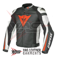 Motorcycle Leather Jackets- Men Motorcycle Racing Leather Jackets- Street Motorcycle Leather Jackets