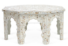 Jodhpur Mother of Pearl Inlay Coffee Table