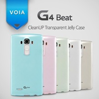 VOIA for LG G4 Beat CleanUP Transparent Jelly Case