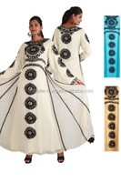 WHITE INDIAN DESIGNER STYLISH KAFTAN