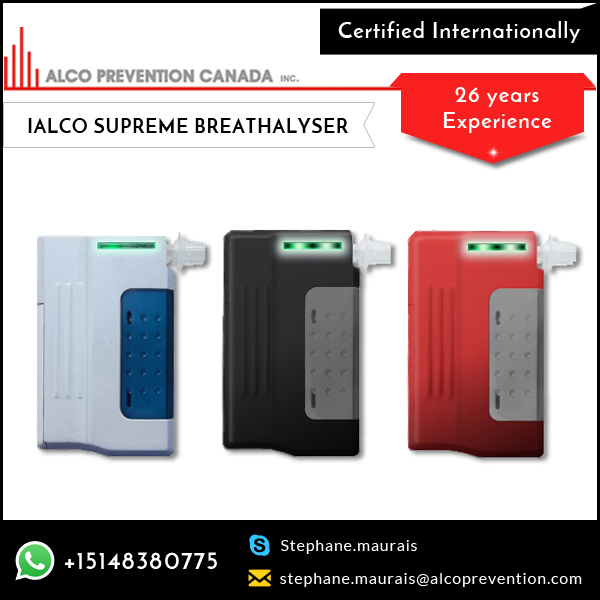 Supreme Quality Bluetooth Breathalyzer Alcohol Tester from Top Selling Brand