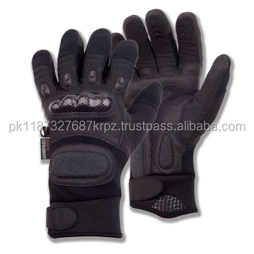 Wholesale Riot Task Police Search Operational Tactical Hard Knuckle Protection Gloves