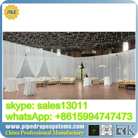pipe and drape systems, Aluminium Pipe and Drape with Poly Premier Fabric for Stage background