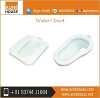 Sanitary Ware Manufacturer Launch New Square Water Closet Toilet