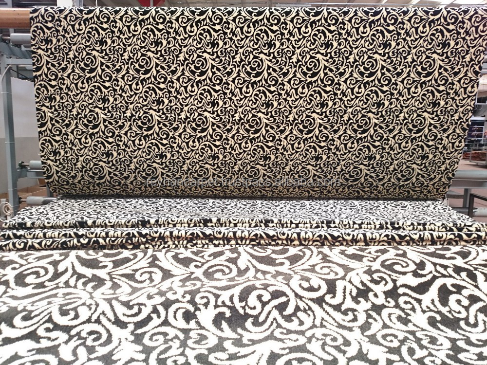 good quality wall to wall carpet non-woven needle felt look carpet