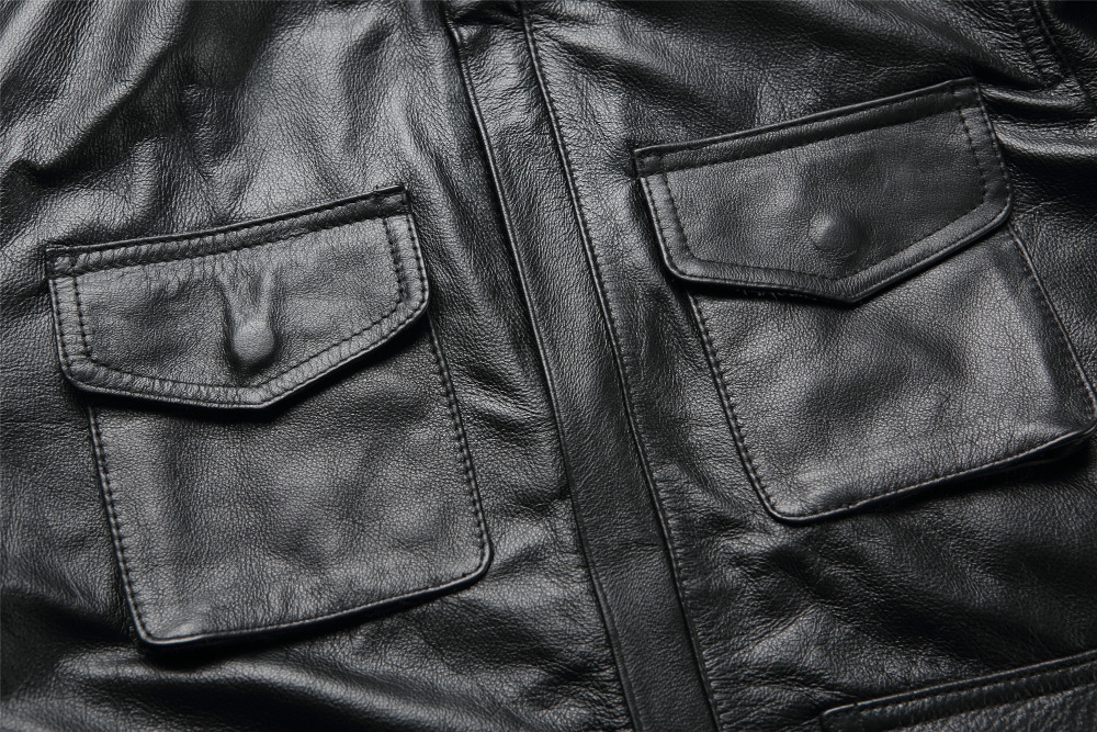 Fashion Leather Jacket Men Leather Jacket Wholesale