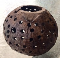 Coconut shell Lamp Shade
