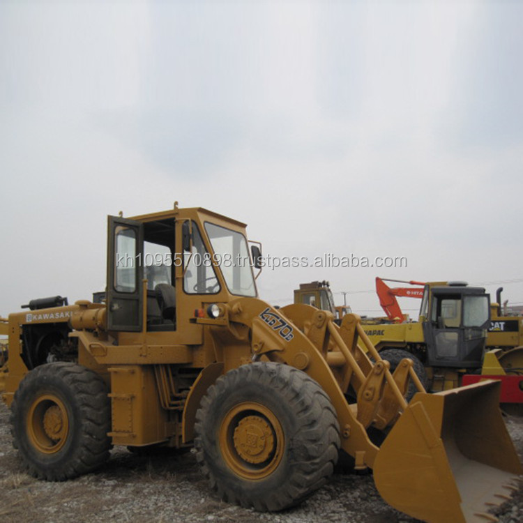 Used Japan wheel loader Kawasaki 70B for sale