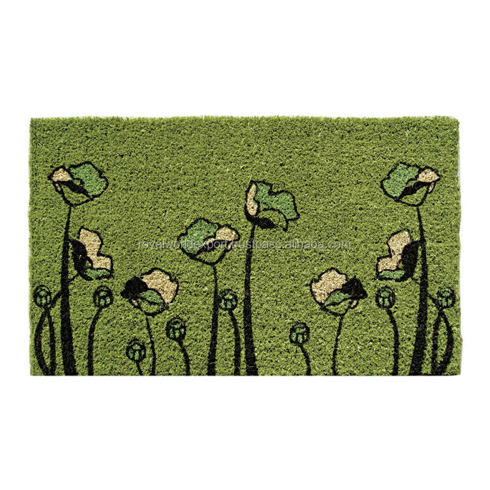 Coco Coir Door Mats Printed Custom Coir Door Mats with High Quality