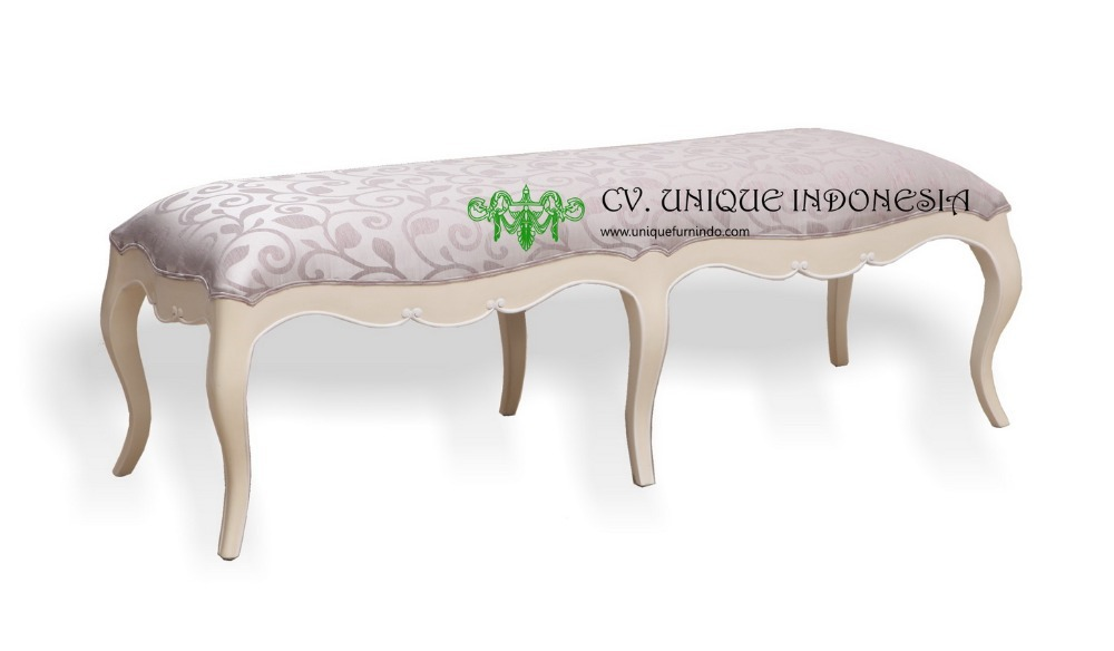 BED END STOOL FURNITURE - OTTOMAN STOOL FURNITURE - CLASSIC FURNITURE