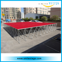 outdoor stage pole dance stage inflatable stage cover