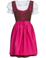 High Quality Cotton Check Bavarian Dirndls, German Dirndl Dresses for Girls, Dirndl Costume for 2015 Oktoberfest