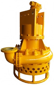 Portable hydraulic submersible dredging pump