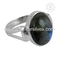 Best Collection Of Shankar Silvex 925 Sterling Silver Labradorite Wholesaler Silver Jewelry India