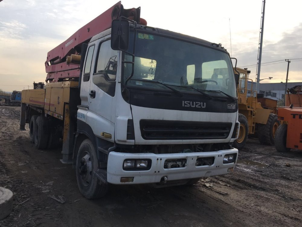 SANY SY5310THB 2009 Year Used 36m Truck Mounted Concrete Pump for Sale