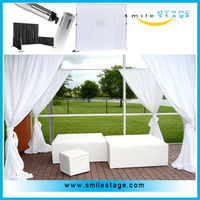 used wedding pipes and drapes adjustable pipes and drapes