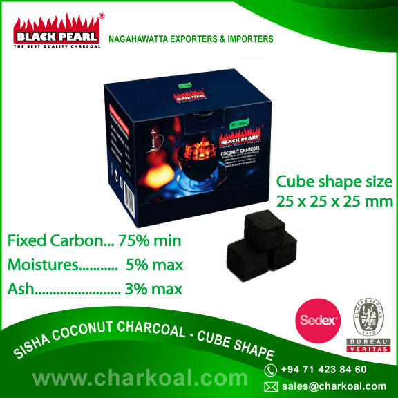 Best Charcoal for Hookah in Customized Packing Bag