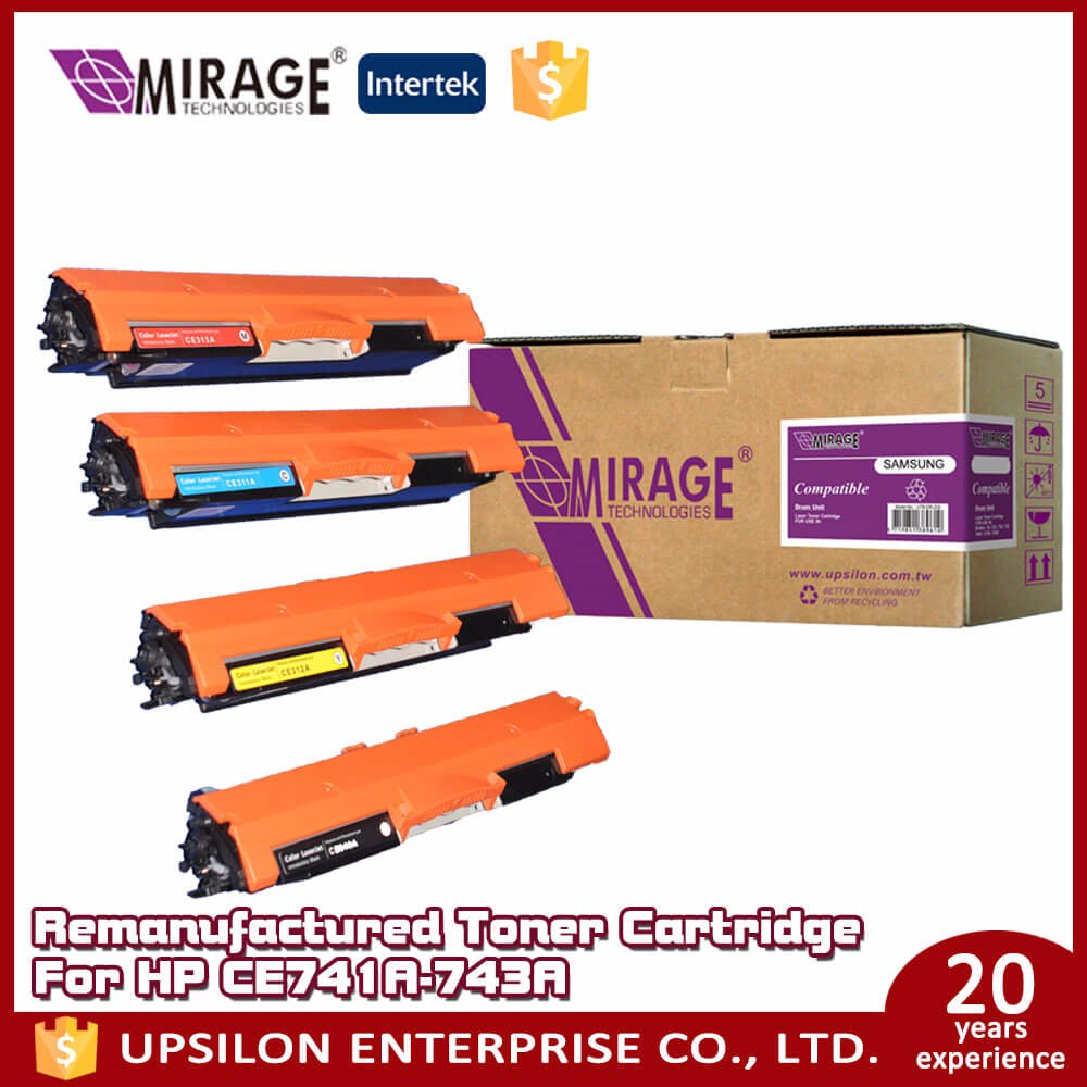 65D Upsilon UKH toner cartridge CE741-3A
