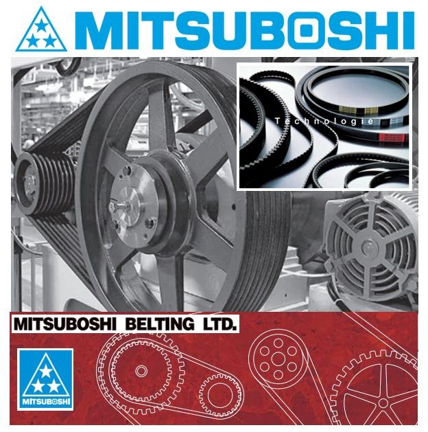 MITSUBOSHI timing belt deliver torque accurately beyond your expectation